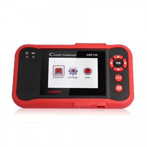 Launch X431 CRP129 ENG/AT/ABS/SRS EPB SAS Oil Service Light resets OBD2 Code Reader
