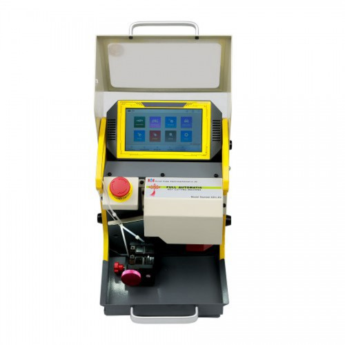 Latest SEC-E9 CNC Automated Key Cutting Machine with Android Tablet Get Free Ford Tibbe Jaws FO21 Clamp