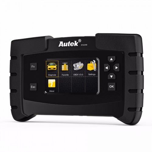 Autek IFIX-919 OBD2 Automotive Scanner Full System OBD2 Diagnostic Tool For ABS Airbag SRS Engine Transmission Crash Data Reset