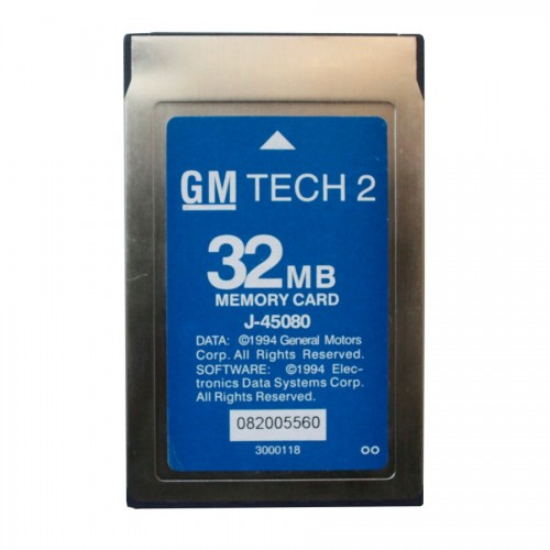 GM TECH 2 32MB CARD for GM,OPEL,SAAB,ISUZU,SUZUKI,Holden