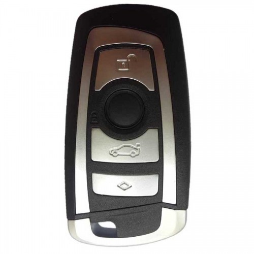BMW 4 Button Remote Key Shell Case Smart Car Key Housing Cover for BMW New 7 Series