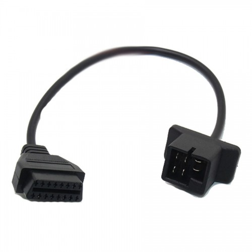Chrysler 6pin To 16 Pin OBD2 Cable Car Connector