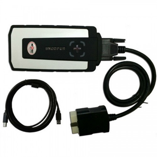 WoW SNOOPER USB with single PCB Car Truck Diagnostic Tool Up To 2016 Year