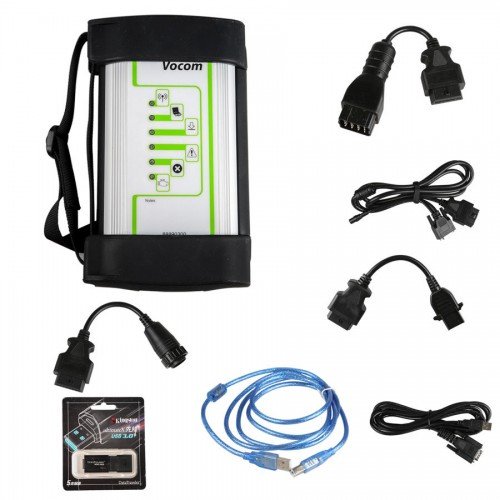 Volvo Vocom 88890300 Interface for Volvo/Renault/UD/Mack Multi-languages Truck Diagnose
