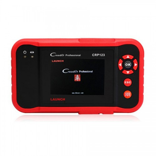 Launch X431 CRP123 OBD2 Code Reader Transmission ABS SRS Engine Multi-Languages