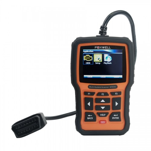Foxwell NT510 Multi-System Scanner ABS SRS Airbag Crash Data EPB Oil Service Reset
