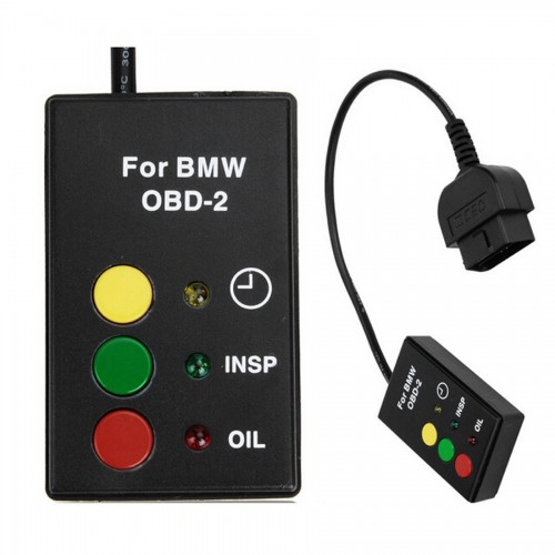BMW Airbag (SRS) Scan/Oil Service/Inspection Light Reset Diagnostic Tool After 2001