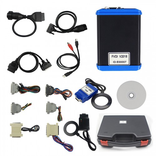 2018 FVDI Including 18 Software FVDI ABRITES Commander Diagnostic Scanner