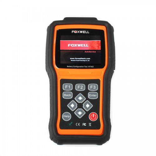 Foxwell NT402 Battery Configuration Tool With TF memory Card