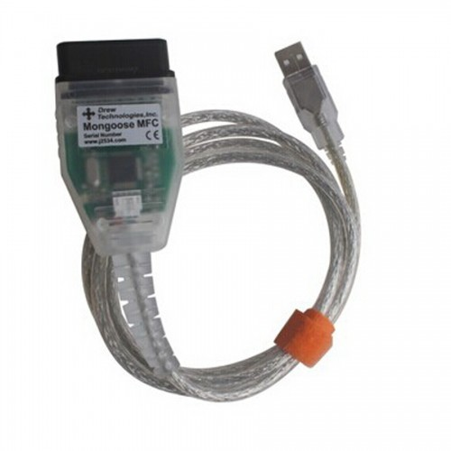 Toyota mongoose techstream j2534 MFC cable