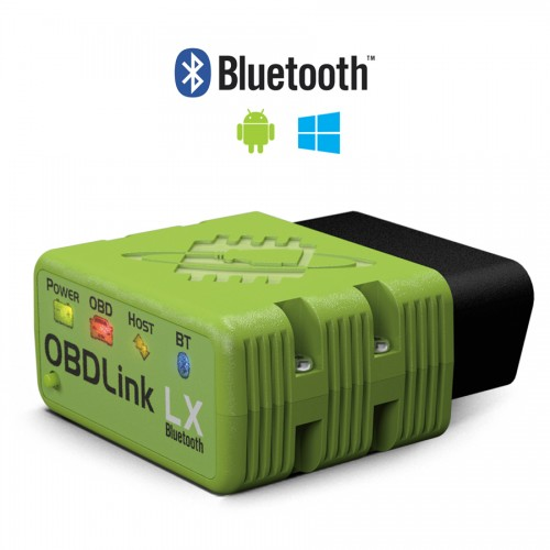 OBDLink LX Bluetooth Scan Tool work with android Phone windows PC